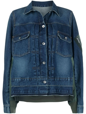 MA-1 Denim Jacket