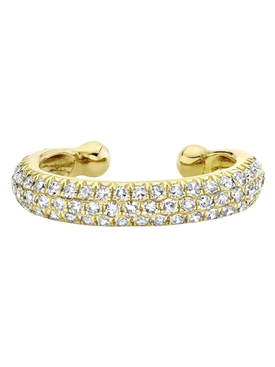 Jumbo Pave Diamond Ear Cuff
