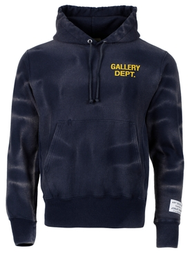 SUN FADED PULLOVER HOODIE NAVY