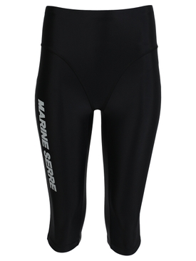 SEA-SKIN LOGO TRAINING SHORTS, BLACK