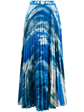 Christopher Kane - Sky Pleated Maxi Skirt - Women