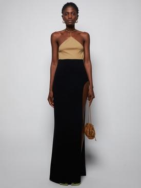 Skirt with Side Slit, Black