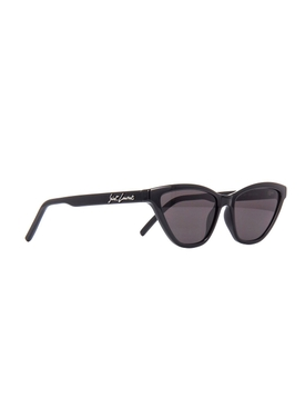 Signature Logo Cat Eye Sunglasses