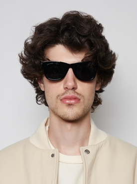 Classic SL 51 Square Acetate Sunglasses Black