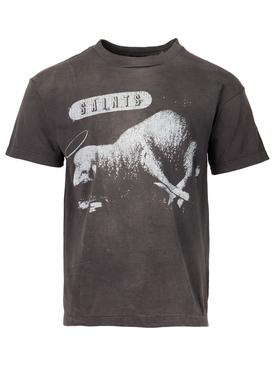 SHEEP LION T-SHIRT BLACK