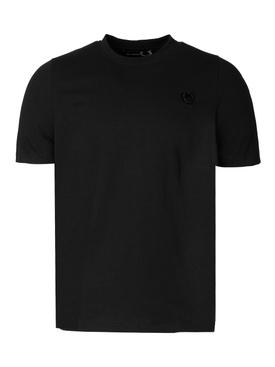 Laurel Detail Logo T-shirt Black