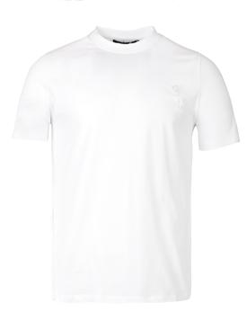 Laurel Detail Logo T-shirt White