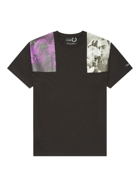 Fred Perry X Raf Simons - X Raf Simons Print Patch T-shirt - Men