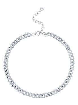 Medium Link Pave Necklace
