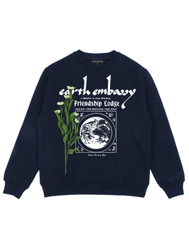 EARTH EMBASSY CREW NECK