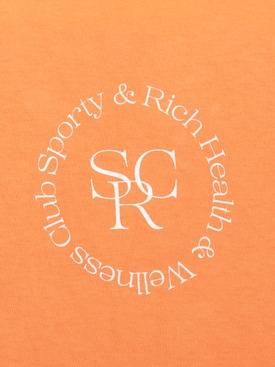 Orange logo t-shirt