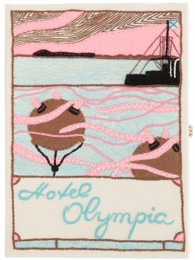 Hotel Olympic Book Clutch