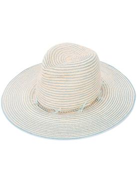 Jeanne Straw Fedora Hat