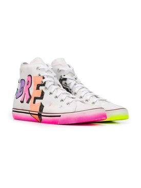 Hardcore Happiness High-Top Sneakers