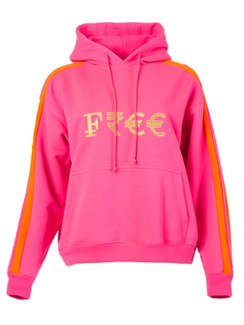 Vetements - Pink Currency Logo Hoodie - Women