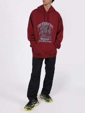 The Pirate Bay Hoodie BURGUNDY