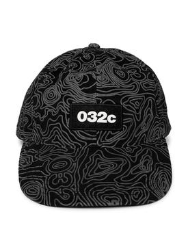 Topos Print Logo Cap, Black