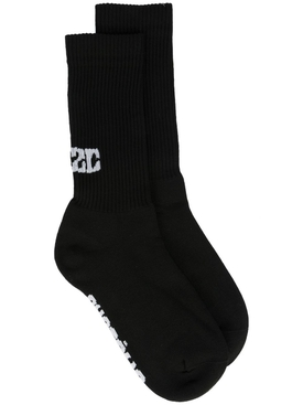 Système Logo Socks Black