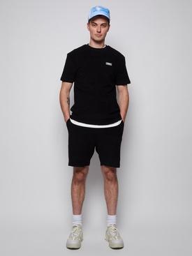 Topos Shaved Terry T-Shirt Black, Black