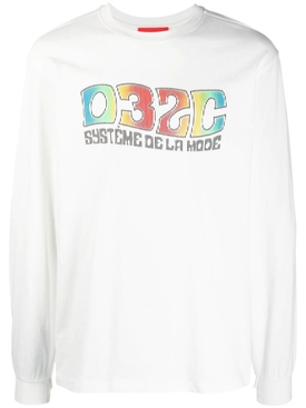 Système Long-sleeve T-shirt, White