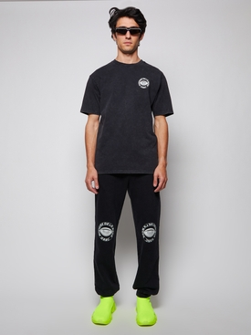 Hypnos Acid Washed T-Shirt washed out black