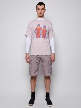Heat Mode T-Shirt grey purple