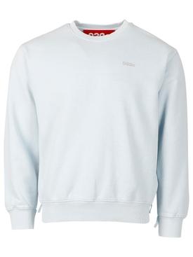 Heat Sensitive Crewneck Sweatshirt ex neon blue