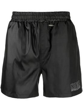 Nylon Swim Shorts, Black