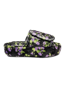 Floral Print Tall Slippers