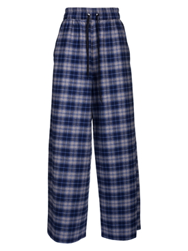 Blue and Grey Pijama Trousers