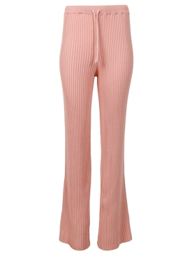 Knitted Tied Trouser PINK