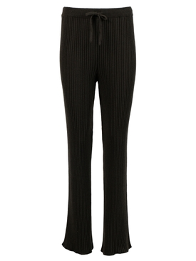 Knitted Tied Trouser KHAKI