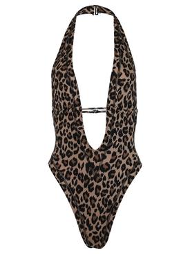 Leopard print Whitney Swimsuit