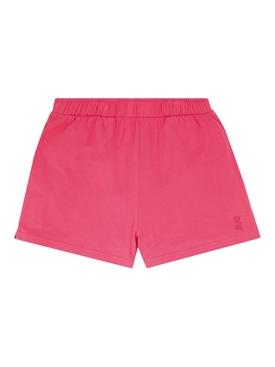 Loose Cotton Shorts, Raspberry Pink