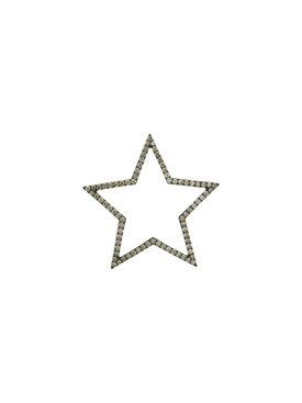 Large Star Diamond Charm Pendant