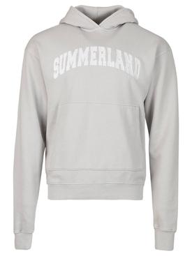 Summerland Arch Hoodie Grey