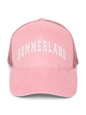 SUMMERLAND CORDUROY CAP, PINK