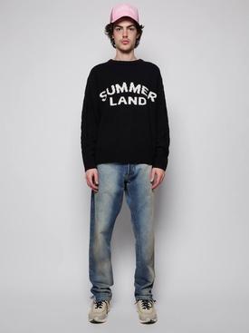 Summerland Cashmere Knit Sweater Black
