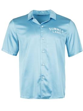 Silk Summerland Uniform Short-sleeve Shirt Blue