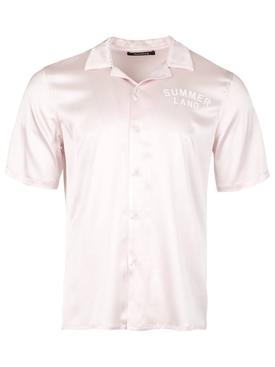 Silk Summerland Uniform Short-sleeve Shirt Pink