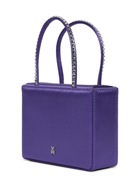 Super Amini Gilda Crystal-Trimmed Bag LILAC