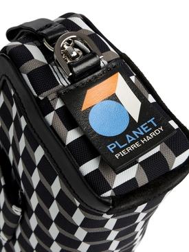PLANET CUBE BOX BAG BLACK AND WHITE
