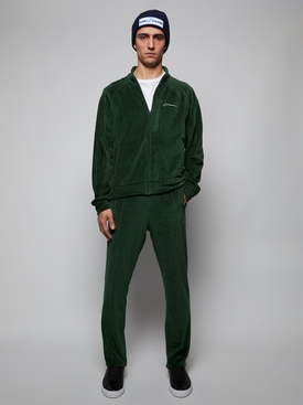 Velour Top, Green