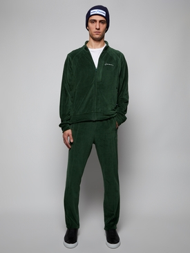 Velour Bottom, Green