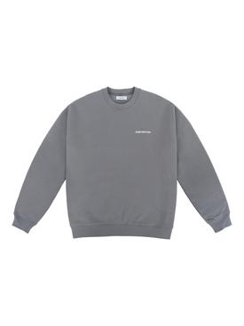 Cement Logo Crewneck Sweatshirt, Cement