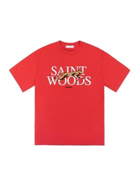 Speed Logo T-Shirt, Red