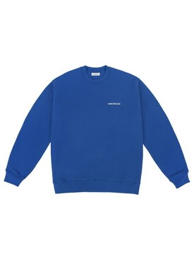 Classic logo crewneck blue