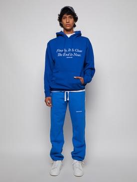 Classic logo sweatpants blue