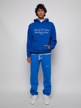 end is near hoodie royal blue
