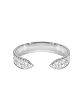 Sacred Windows Open Diamond Ring
